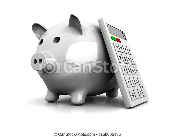 économies, calculatrice - csp8005135