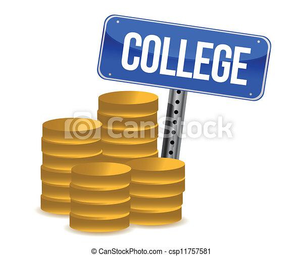 économies, collège - csp11757581