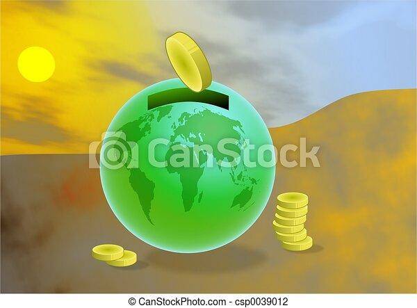 économies, global - csp0039012