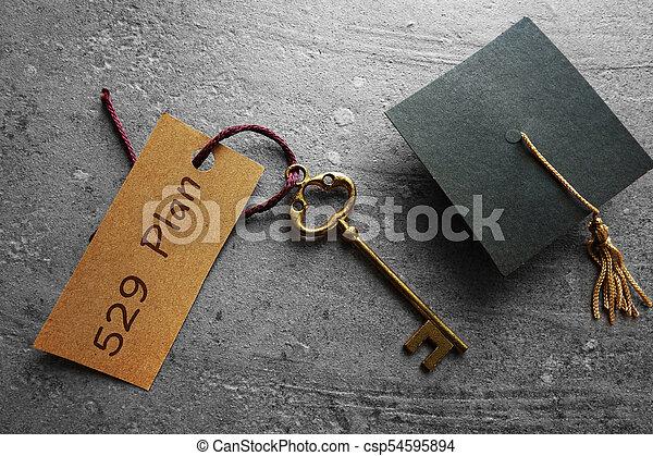 économies, planification, collège, 529 - csp54595894