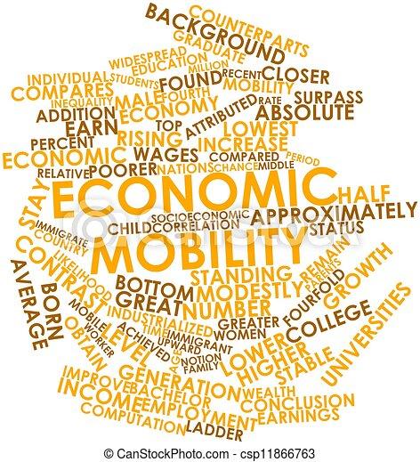 économique, mobilité - csp11866763