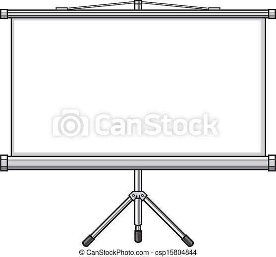 écran, projecteur - csp15804844