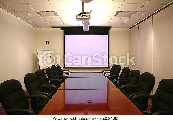 écran, salle réunion - csp0521083