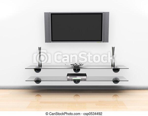 écran télévision - csp0534492