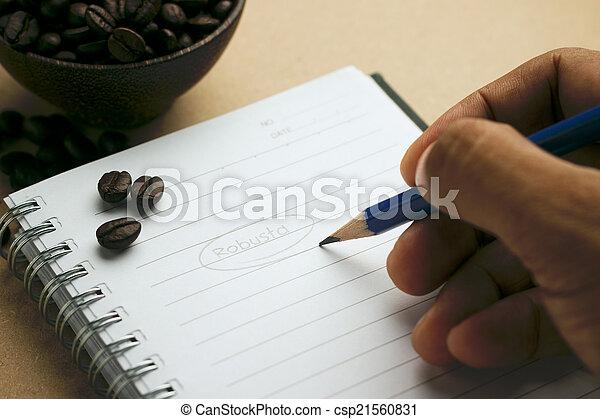écriture - csp21560831