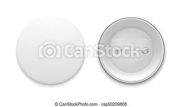 écusson, vide, épingle, gabarit - csp50209808