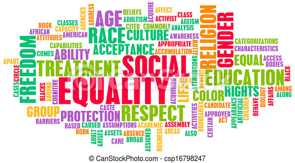 égalité, social - csp16798247