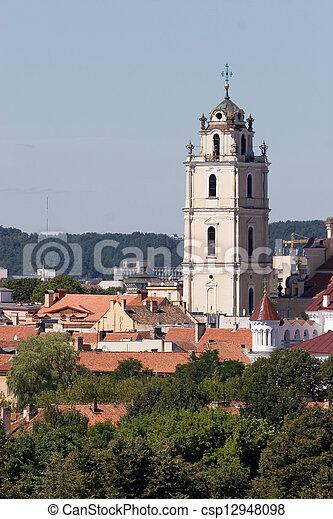 églises, vilnius - csp12948098