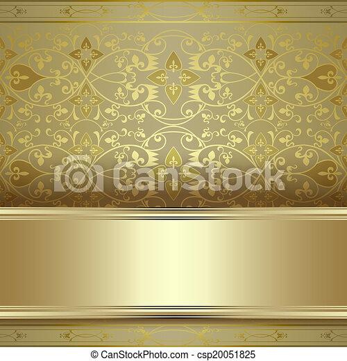 élégant, fond, vendange - csp20051825