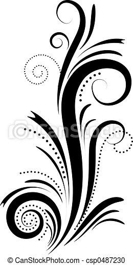 élément décoratif - csp0487230