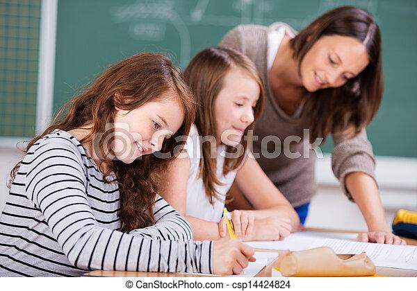 élémentaire, étudiants - csp14424824