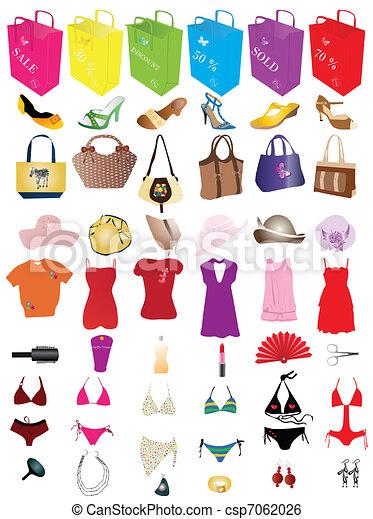 éléments, mode, vente - csp7062026