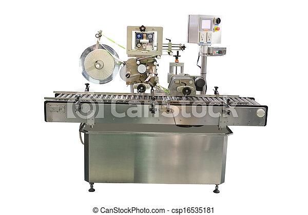 élelmiszer, felszerelés, csomagolás, iparág - csp16535181