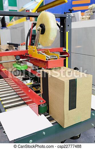 élelmiszer, felszerelés, csomagolás, iparág - csp22777488