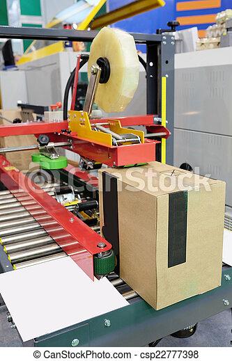 élelmiszer, felszerelés, csomagolás, iparág - csp22777398