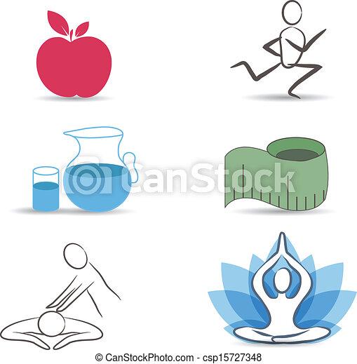 életmód, gyűjtés, jelkép, egészséges - csp15727348