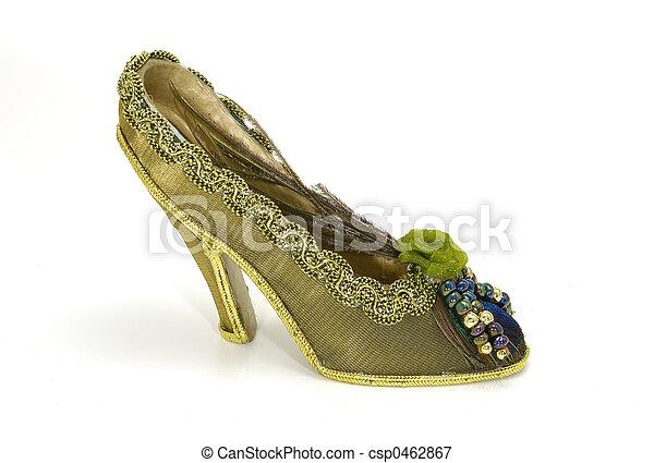 élevé, chaussure, talon - csp0462867