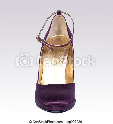 élevé, chaussure, talon - csp2972391