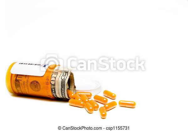 élevé, cout, healthcare - csp1155731