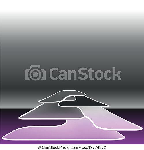 élevé, résumé, vecteur, technologie, fond - csp19774372