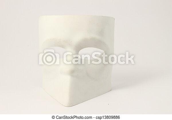 élevé, vénitien, style, masque, clã© - csp13809886