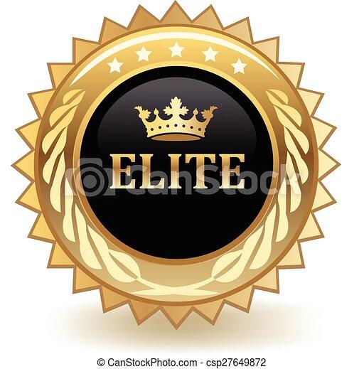 Una placa de élite - csp27649872