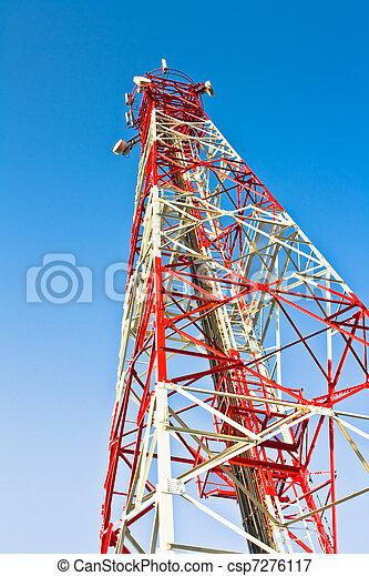 émetteur, divers, télécommunications, antenne, récepteur - csp7276117