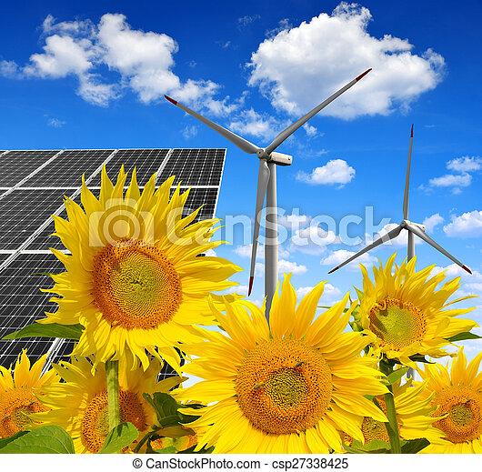 énergie, concepts - csp27338425