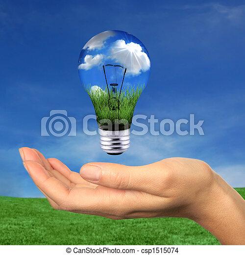 énergie, dans, portée, renouvelable - csp1515074