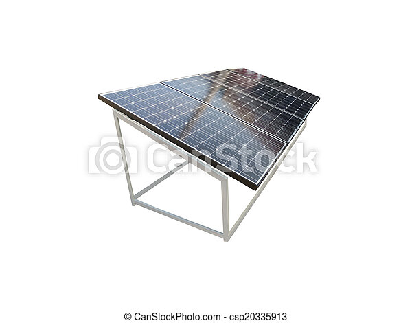 énergie, panneaux, solaire - csp20335913