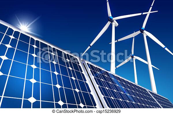 énergie, vert - csp15236929