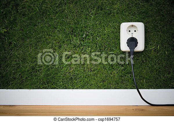 énergie, vert - csp1694757