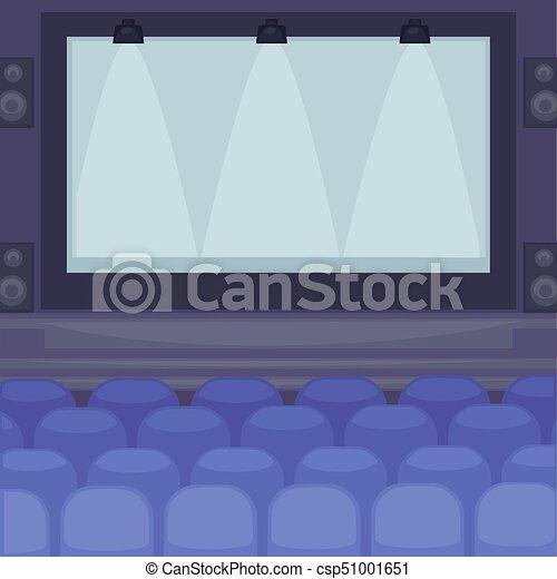 énorme Cinéma écran Confortable Sièges Salle