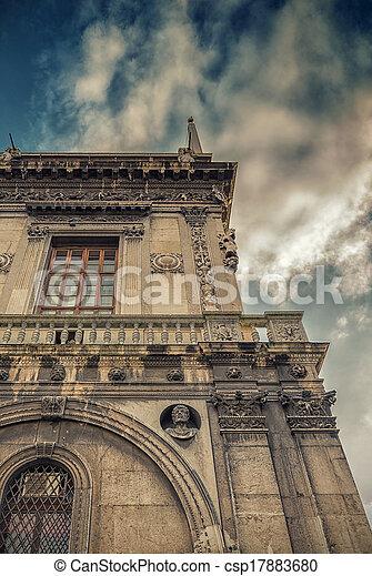 építészet, olasz - csp17883680