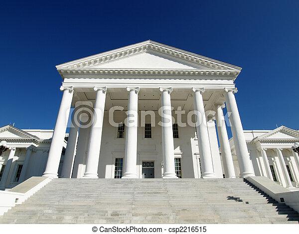 épület, állam, virginia - csp2216515