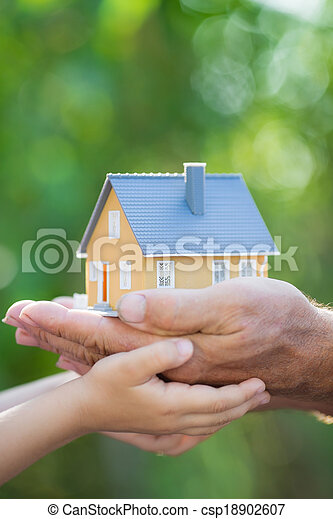 épület, ökológia, kézbesít - csp18902607