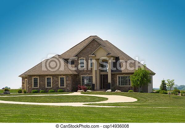 épület, család - csp14936008