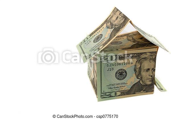 épület, dollár - csp0775170