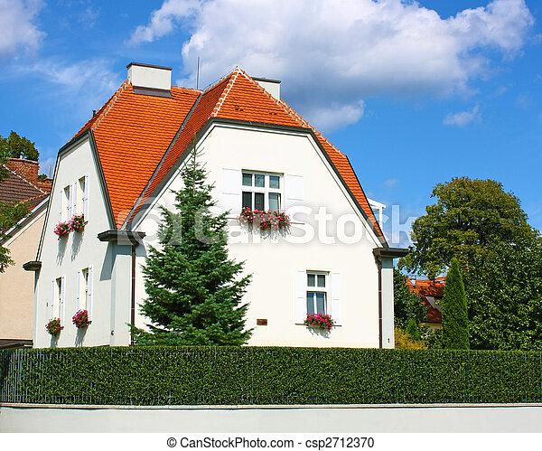 épület, fehér - csp2712370