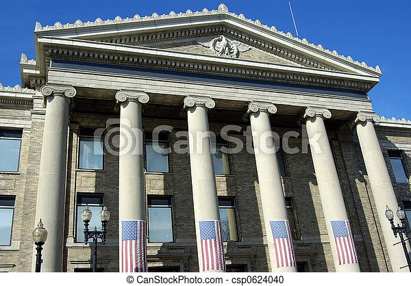 épület, kormány - csp0624040
