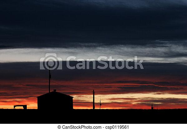 épület, letesz nap - csp0119561
