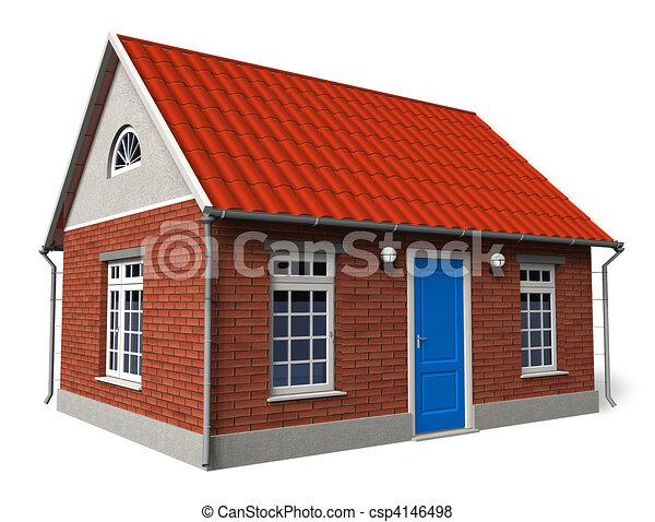 épület, magán - csp4146498