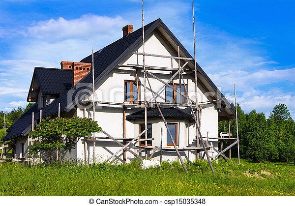 épület, ország, új - csp15035348