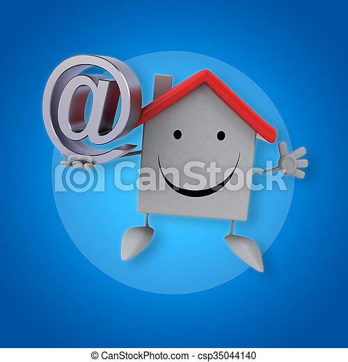 épület - csp35044140