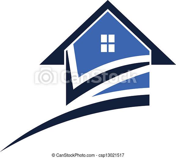 épület, swoosh - csp13021517