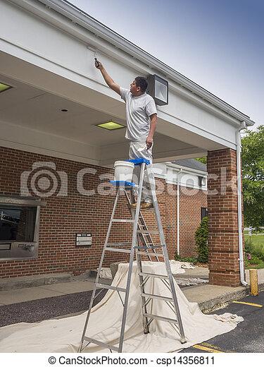 épület szobafestő - csp14356811