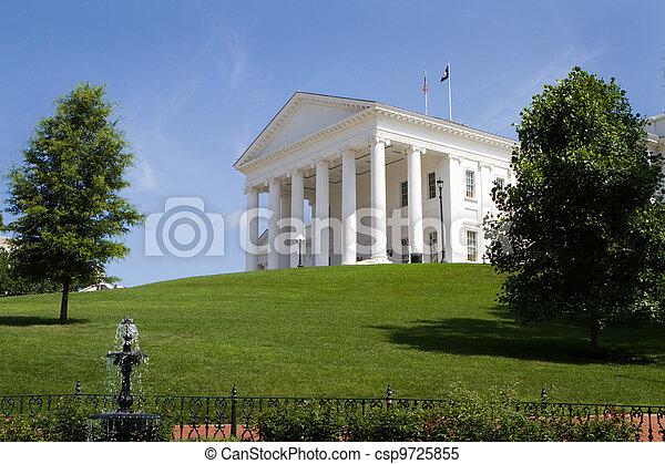 épület, virginia capitol - csp9725855