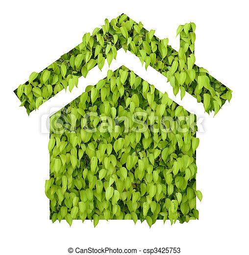 épület, zöld - csp3425753
