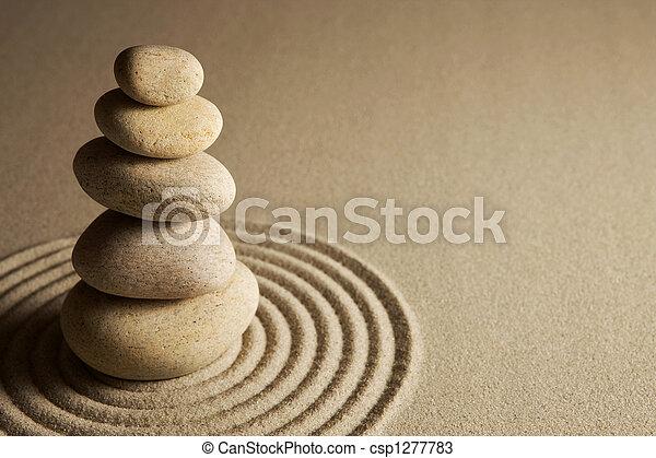 équilibrage, pierres - csp1277783
