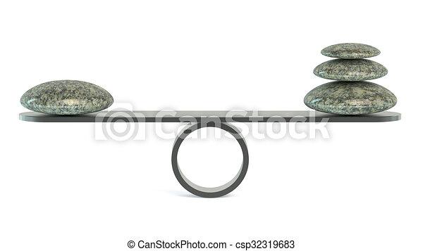 équilibre, concept - csp32319683